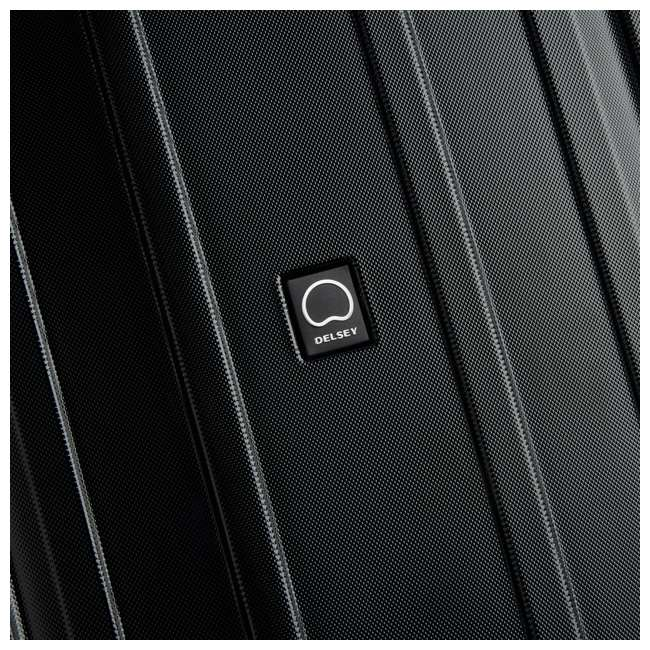 "40207998700 DELSEY Paris Cruise Lite Hardside 2.0 Carry On, 25"", & 29"" Suitcase Luggage Set 6"