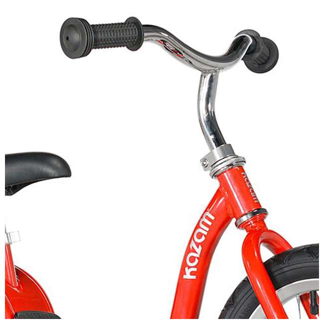 KZM15SRD-U-A Kazam Easy Balance Step Through Frame Neo Balance Bike (v2s), Red (Open Box) 1