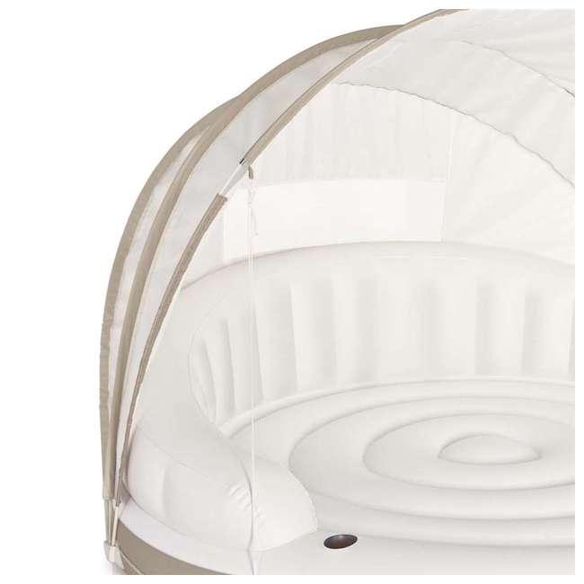58292EP Intex Inflatable Canopy Island 78 x 59-Inch Lounge Raft 3