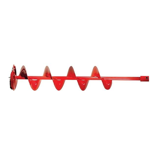 "ESK-QT8N-U-A Eskimo Ice Fishing 8"" Quantum Steel Blade Ice Auger Bit, Red (Open Box) 3"