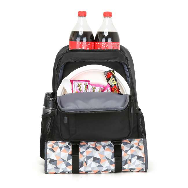 TR0260001A001 TOURIT Cormorant 28L Leakproof Insulated Backpack Camping Lunch Cooler, Black 5