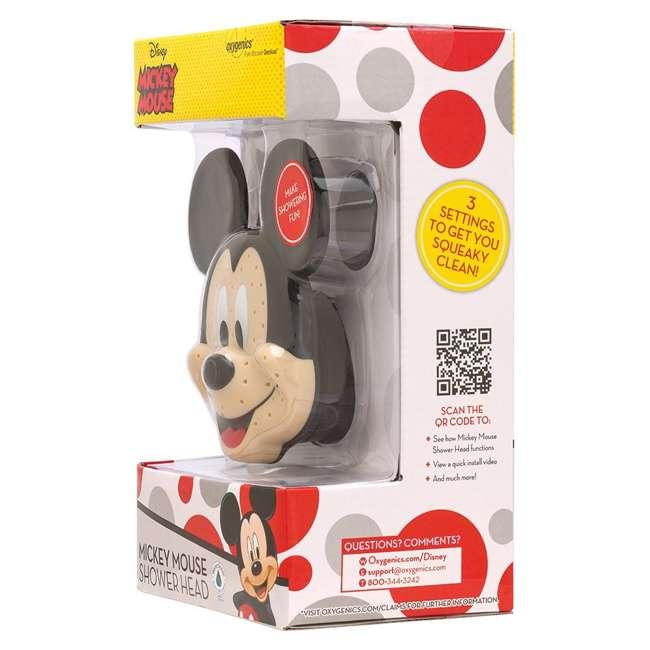 4 x 79268-MICKEYF Oxygenics Disney Mickey Mouse Fixed Shower Head (4 Pack) 5