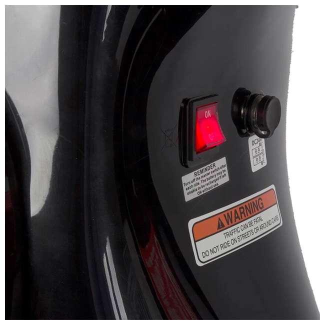 15130656 + 15130601 + 2 x 97778 Razor Pocket Mod Miniature Electric Scooters, 1 Red & 1 Black + Helmets 10