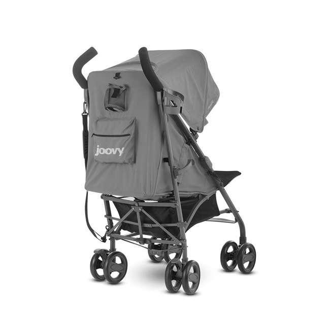 JVY-8129 Joovy Groove Ultralight Compact Canopy Umbrella Stroller, Charcoal 4