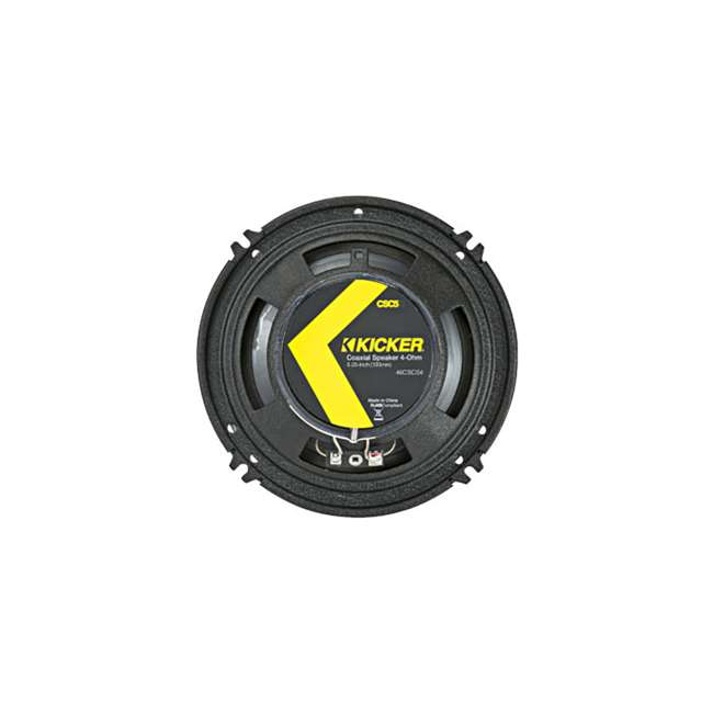 46CSC54 Kicker CS Series 5.25-Inch Car Speaker, Yellow (2 Pack) 3