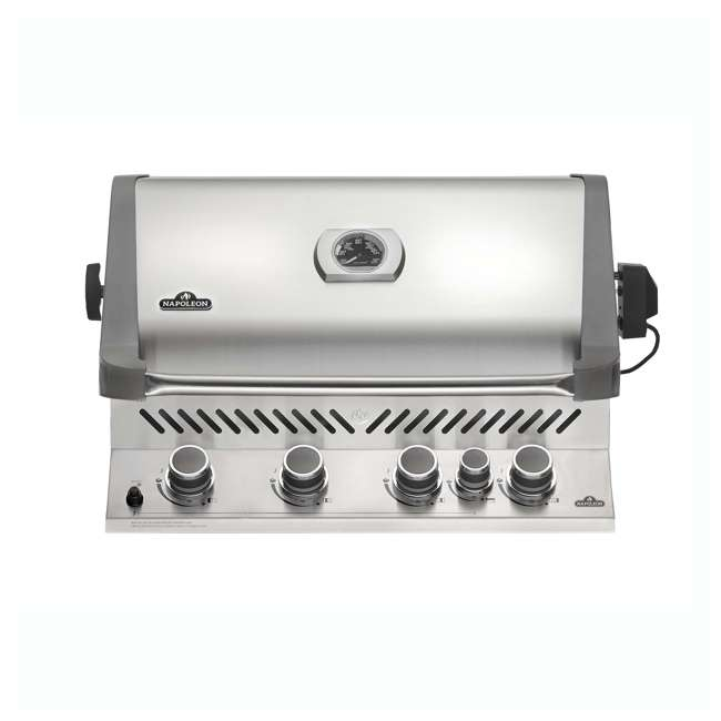BIP500RBNSS-2-U-C Napoleon 31'' Prestige 500 Built In Stainless Steel Gas Grill Head (For Parts)