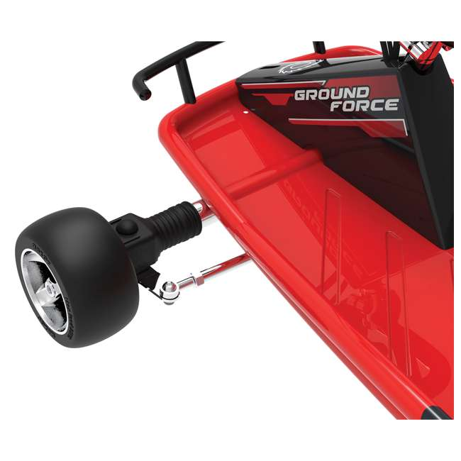 25141058-U-C Razor Ground Force 24V Electric Go Kart, up to 12 MPH, Red (For Parts) 5