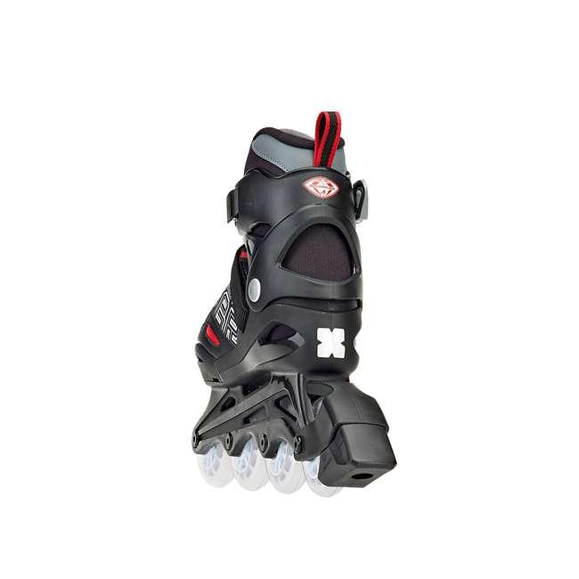 0T817100741-M Rollerblade Bladerunner Phoenix Boys Adjustable Skate, Size 1-4 3