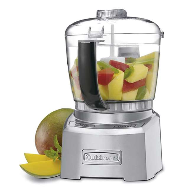 CH-4DC-RB-U-A Cuisinart Elite Collection 4 Cup Chopper and Grinder (Refurbished) (Open Box)