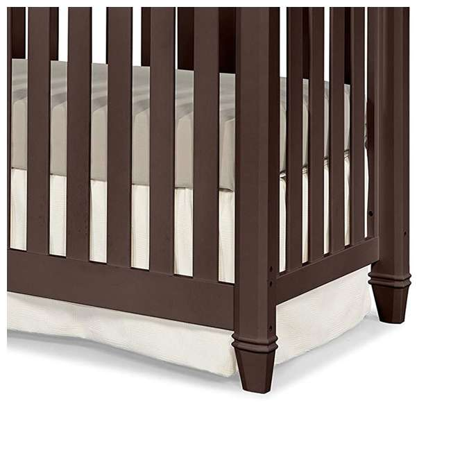 04565-309 + EM642-PHN1 Thomasville Kids Highlands Crib, Espresso & Sealy Posturepedic Mattress 6