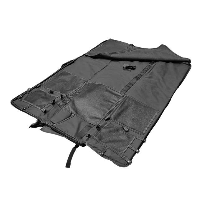 CVSM2913U NcSTAR VISM Soft Padded Gun Case Rifle Carry Bag & 5.5' x 3' Shooting Mat, Gray 2