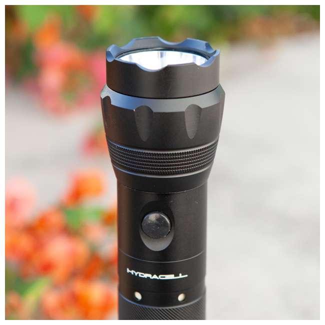 FL-ALSB2(New Box) HydraCell FL-ALSB2 Torch All Purpose Aluminum Flashlight with Fuel Cell, Black 2