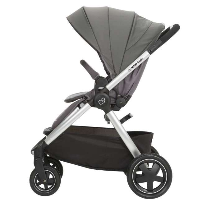TR362CTF Maxi-Cosi Adorra Stroller and Car Seat Travel System, Loyal Gray 5