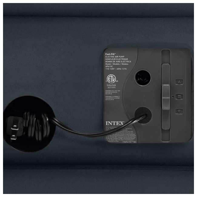 64139EP-U-A Intex Dura-Beam Standard Series Airbed w/ Pump, Queen (Open Box) (2 Pack) 2