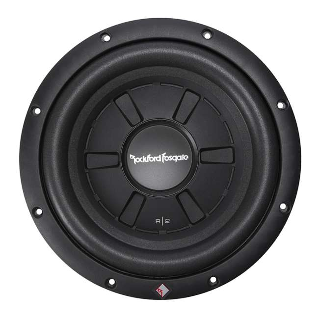 4 x R2SD4-10 Rockford Fosgate Shallow 10-Inch Prime R2 DVC Subwoofer (4 Pack) 1