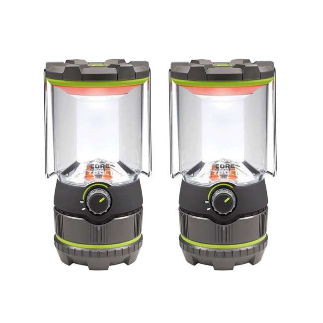 CORE-40020 CORE 750 Lumens Battery-Operated LED Lantern (2 Pack)