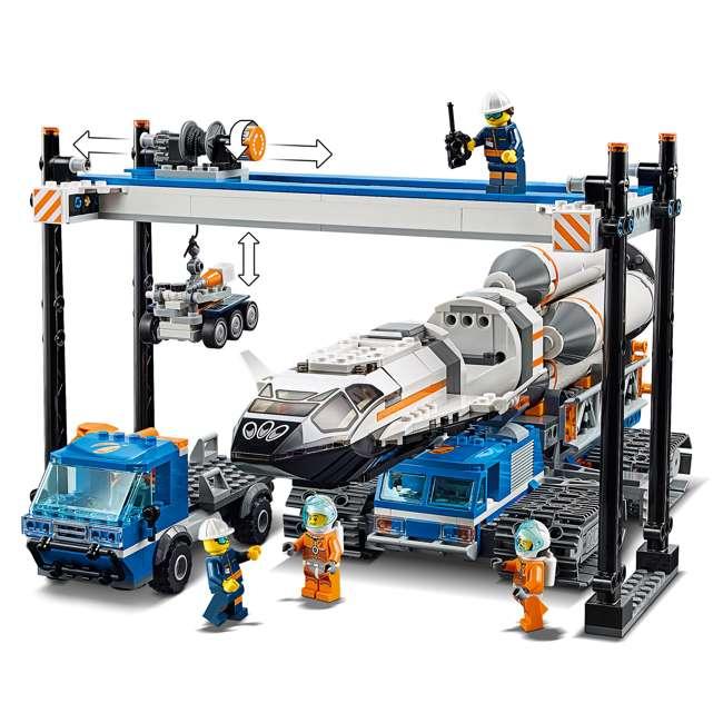 6251738 LEGO City Rocket Assembly & Transport 1055 Piece Building Kit w/ 7 Minifigures 3
