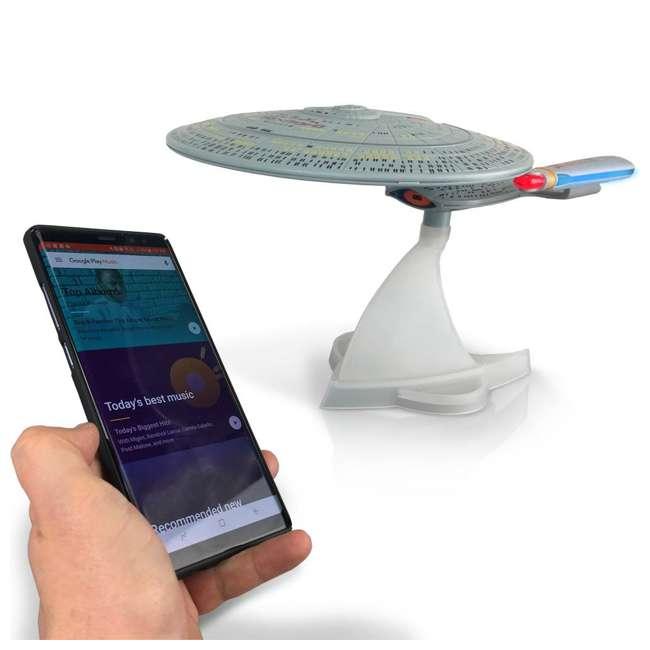ST-ENTD Fametek Star Trek Enterprise 1701-D Bluetooth Speaker & Sleep Machine 6