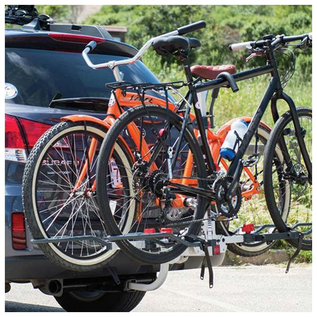 Bell 7076327 Right Up 250 Folding 2 Bike Carrier Hitch Rack 4