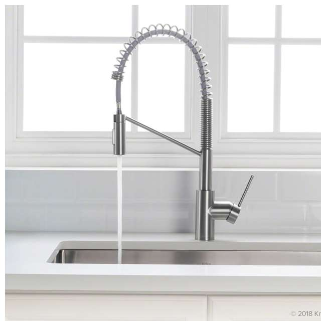 KPF-2631CH-OB Kraus Oletto Single Handle Pull Down Kitchen Faucet, Chrome (OPEN BOX) 1