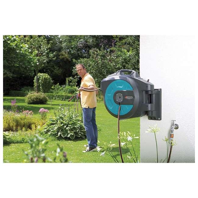 GARD-8024 Gardena Retractable 115-Foot Hose Reel With Hose Guide 2