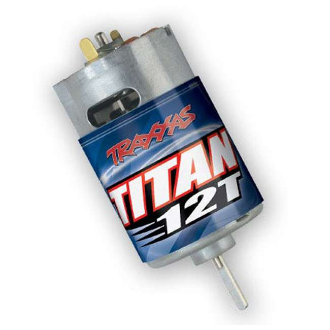 3785 Traxxas 3785 Titan 550 12 Turn RC Car Truck Motor Replacement with Cooling Fan