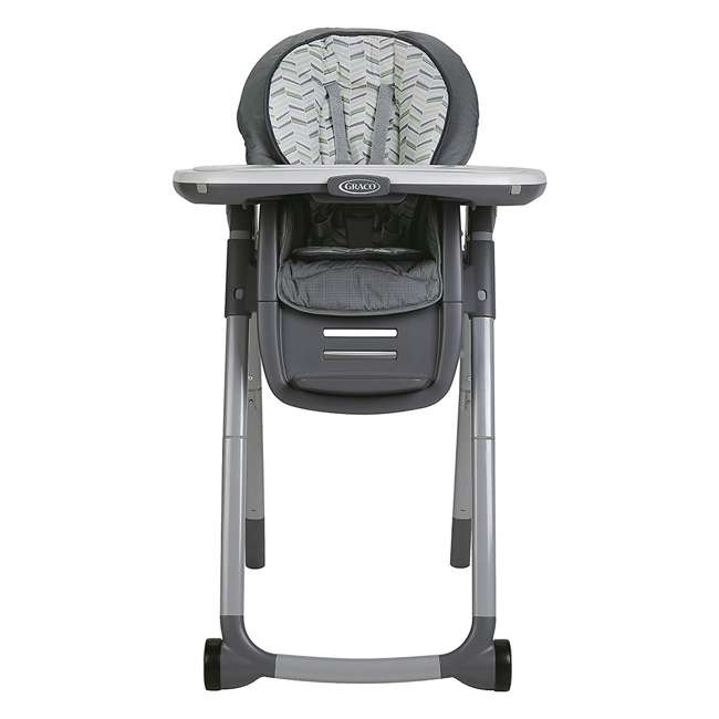 2022439 Graco 2022439 Table2Table Preimier Fold 7 in 1 Adjustable Highchair, Landry Gray 2
