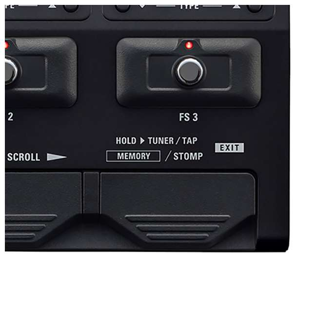 ZG3N-OB Zoom G3N Intuitive Multi-Effects Processor for Guitarists 3