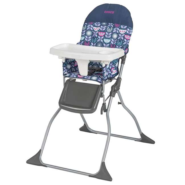 HC225DVR Cosco Simple Fold Baby Full Size High Chair with Adjustable Tray