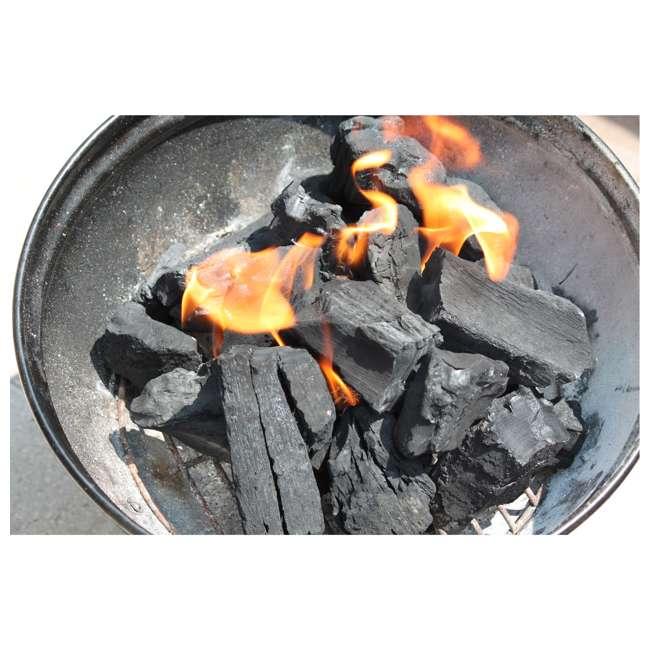 JD-20-LBS Jealous Devil 100 Percent Natural Hardwood Wood Lump Grill Charcoal, 20 Lbs (8) 7