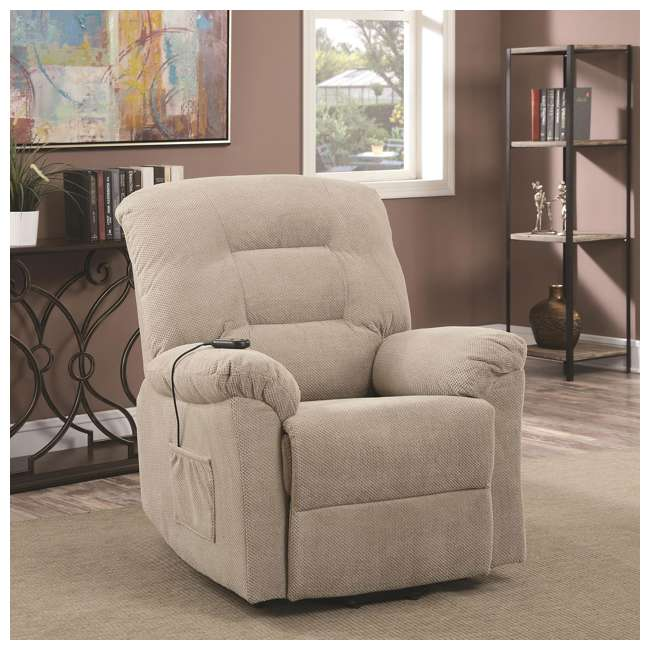 600399ii-U-A Coaster Home Furnishings Power Lift Recliner Chair With Remote Control(Open Box) 4
