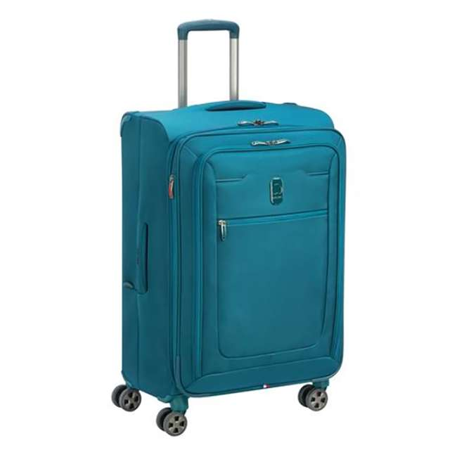 """40229182032 DELSEY Paris 25"""" Expandable Spinner Upright Hyperglide Luggage Suitcase, Teal 1"""