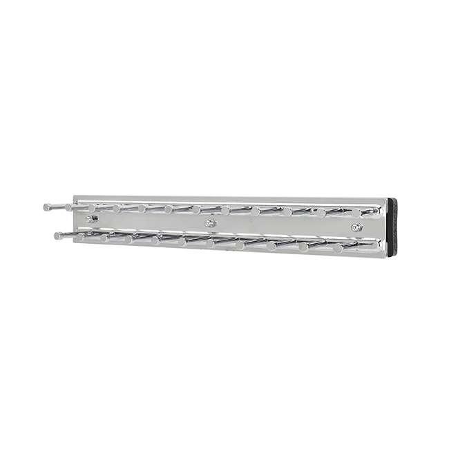 TRC-12CR Rev-A-Shelf TRC-12CR Chrome Tie Organizer Rack Side Mount for Closet (2 Pack) 1