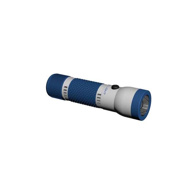 FL-100BLUB2(New Box) HydraCell FL-100BLUB2 Multi Use Hands Free Floating Waterproof Flashlight