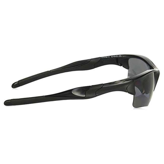 OO9154-13 Oakley Standard Half Jacket 2.0 XL Sunglasses, Matte Black 2
