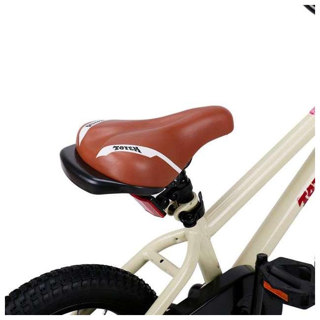BIKE008-16 JOYSTAR Totem Series 16-Inch Kids Bike with Training Wheels & Kickstand, Ivory 5