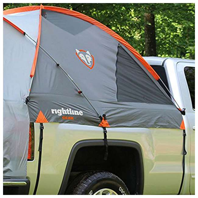 110750 Rightline Gear 110750 Full-Size Short Truck Bed Tent, 5.5' (2 Pack) 3