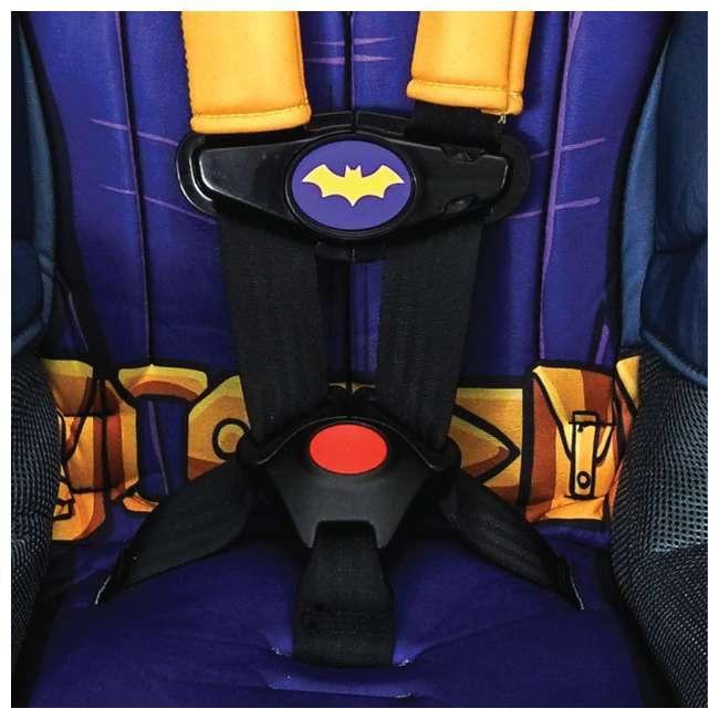 KE-3001BTG Kids Embrace Combination 2 in 1 Booster Forward Facing Car Seat, DC BatGirl 9
