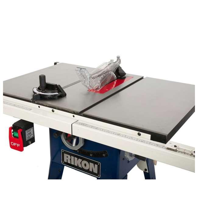 10-201 RIKON  Power Tools Cast Iron Contractors Left Tilt Table Saw, 10 Inch 1