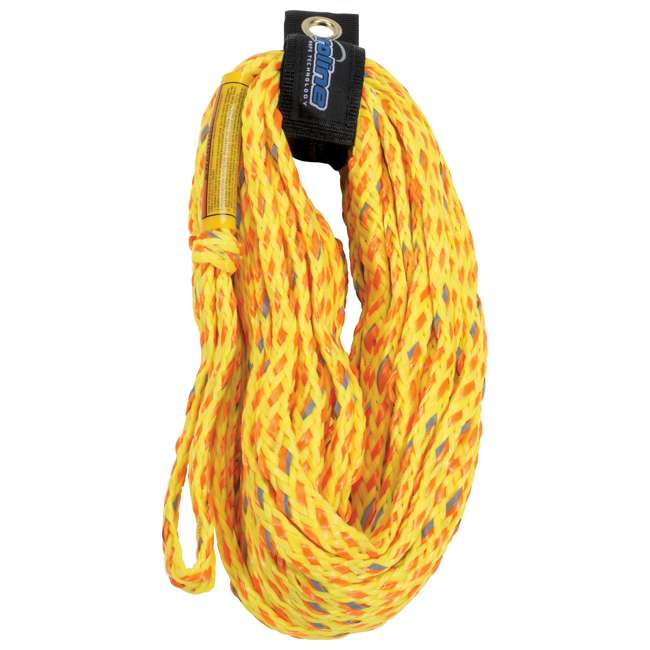 86014033-CON CWB Connelly 60 Foot 4 Ride Tube Rope, Volt Orange