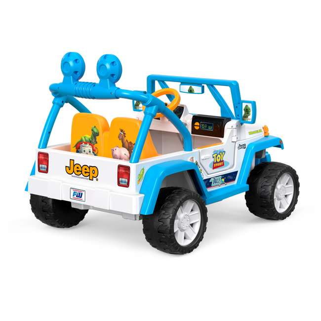 FYX48 Power Wheels Disney Pixar Toy Story Kids Electric 12V Car Ride On Jeep Wrangler 3