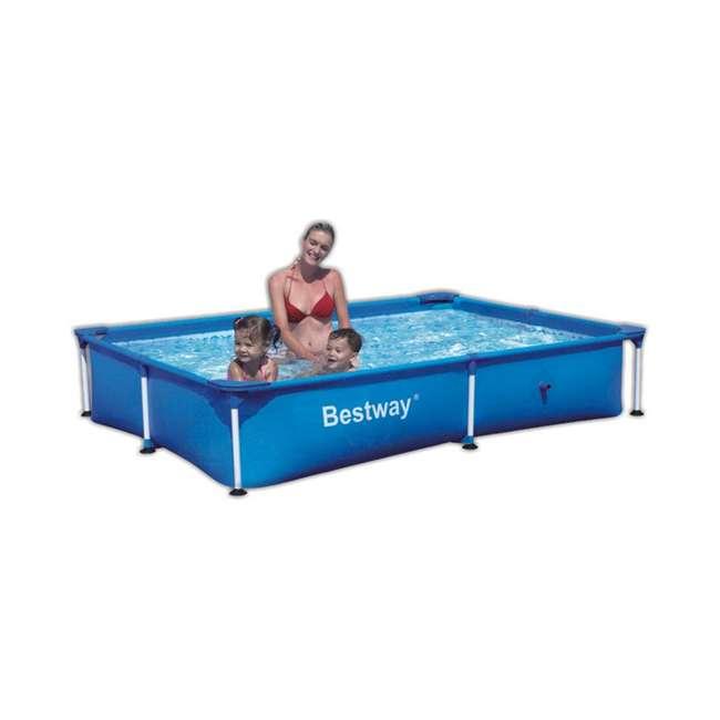 Bestway 94 Quot Rectangular Frame Swimming Pool 56041us
