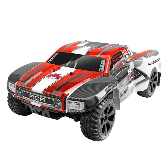 BLACKOUT-SC-RED Redcat Blackout SC Brushed Electric RC Short Course Truck