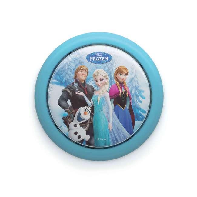 PLC-7192408U0 + PLC-7175101U0 Philips Disney Frozen Push Touch Night Light w/ Philips Disney Frozen Lampshade 1