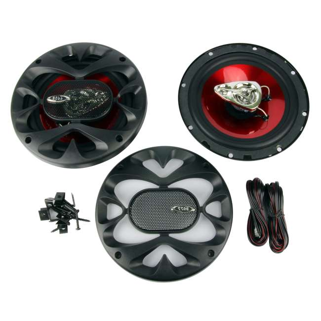 CH6530 Boss CH6530 6.5-Inch 3-Way 600W Speakers (2 Pairs) 1