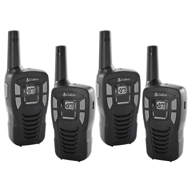CX112 (4) Cobra 16 Mile 22 Channel Two-Way Radios | CX112