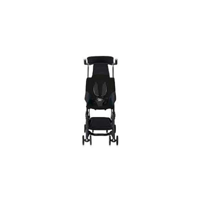 616230013 GB 616230013 Pockit Record Collapsible Folding Infant Stroller, Monument Black 1