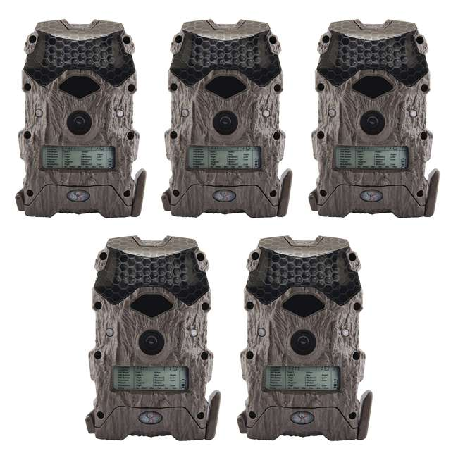 5 x WGICM0556 Wildgame Innovations M16i8-8 Mirage Series Outdoor Trail Camera, Green (5 Pack)