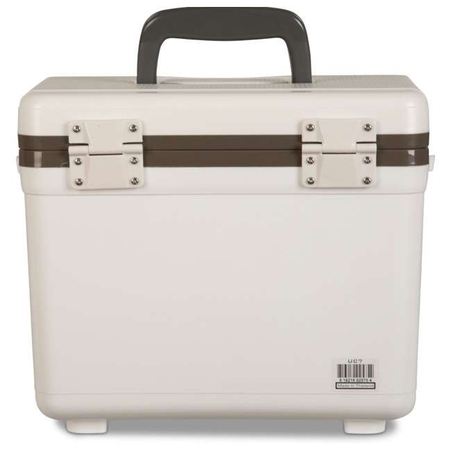 UC7 Engel 7.5-Quart EVA Gasket Seal Ice and DryBox Cooler with Carry Handles, White 3