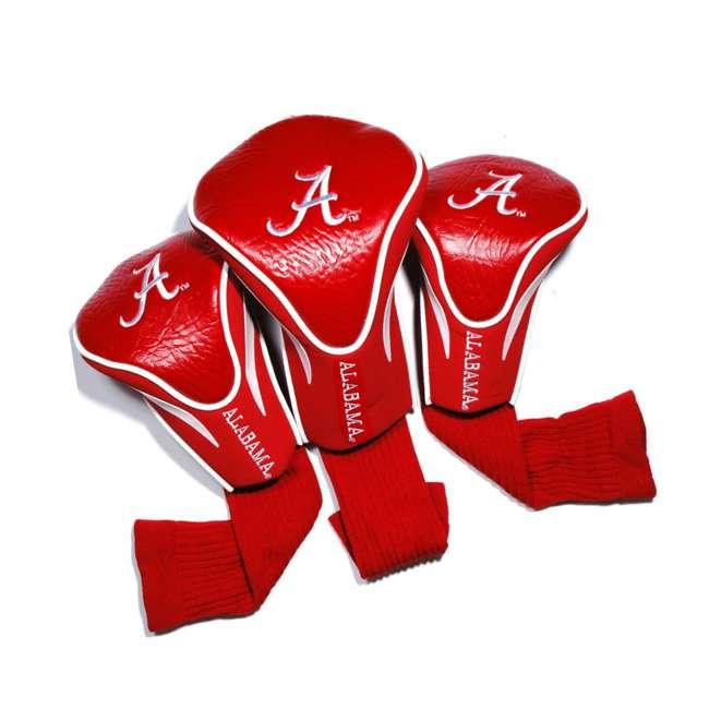 20194 Team Golf 20194 NCAA Alabama Football Contour Golf Club Sock HeadCovers, 3 Pack